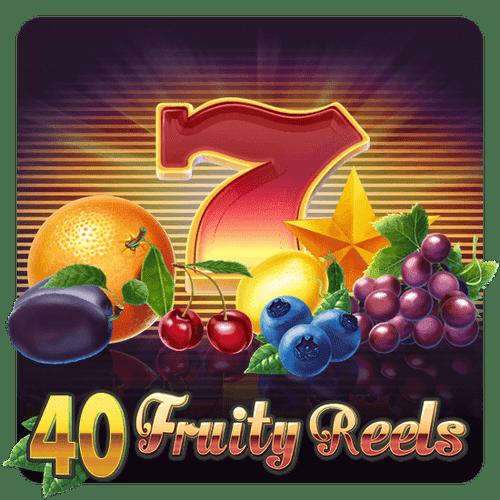 40 bobinas de frutas